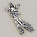 CH215: Star Charm in Gold or Silver