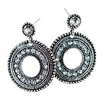 EA650: Exotic Doorknocker Earrings