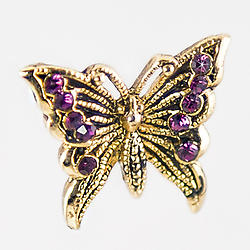 NA104: Crystal Illusion Butterfly Necklace