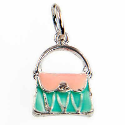 CH268: Colorful Purse Charm