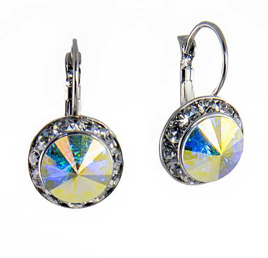 EA560AB: Austrian Crystal Earrings