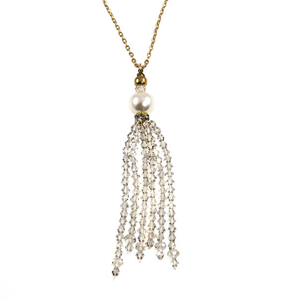 NA317: Elegant Chandelier Treasure Necklace