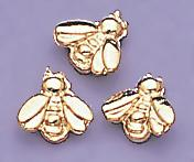 TA91G: Gold Baby Bee Tacs, dozen count