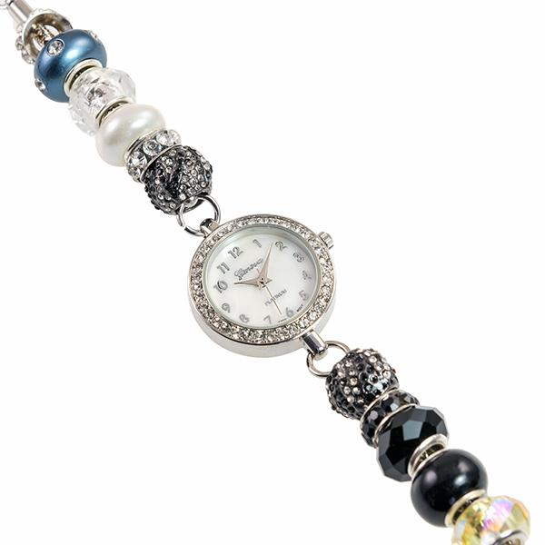 WA159: Pandora Style Beaded Watch