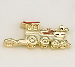CH190: Train Charm in Gold