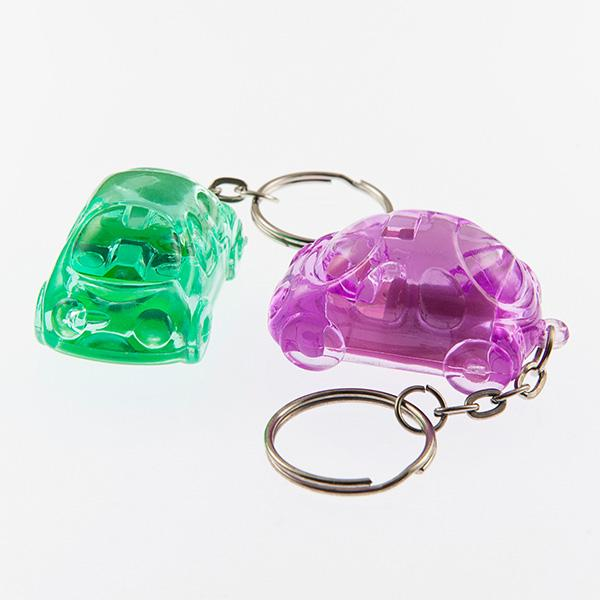CL143: Bubble Car Keychain (Assorted Colors)
