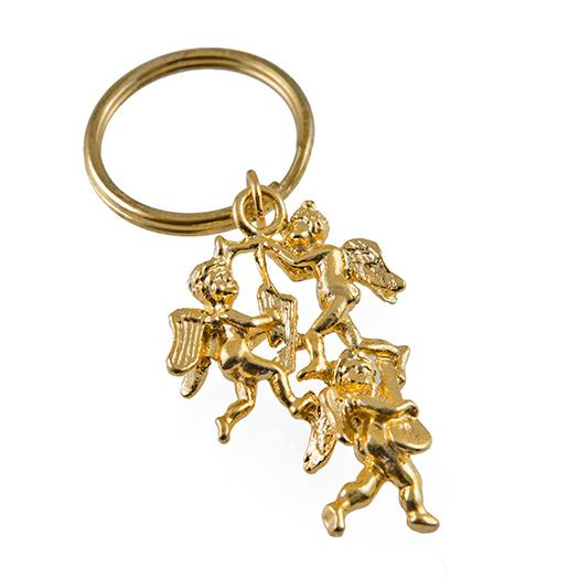 CL199: Golden Angel Keychain