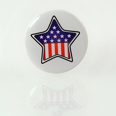 CL81: Red White & Blue Lapel Pin