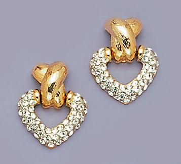 EA093: Heart Earrings