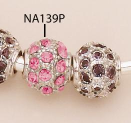 NA139P: Crystal Gold or Silver Fireball