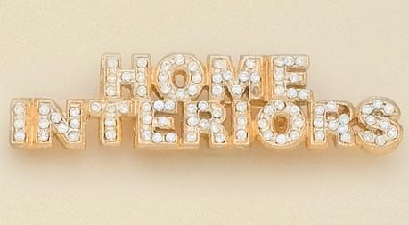 PA431: HOME INTERIORS Pin with Austrian Crystals