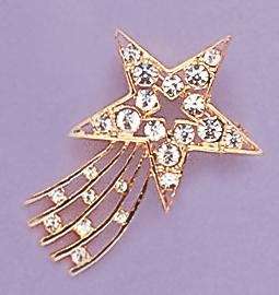 PA52: Shooting Star Pin