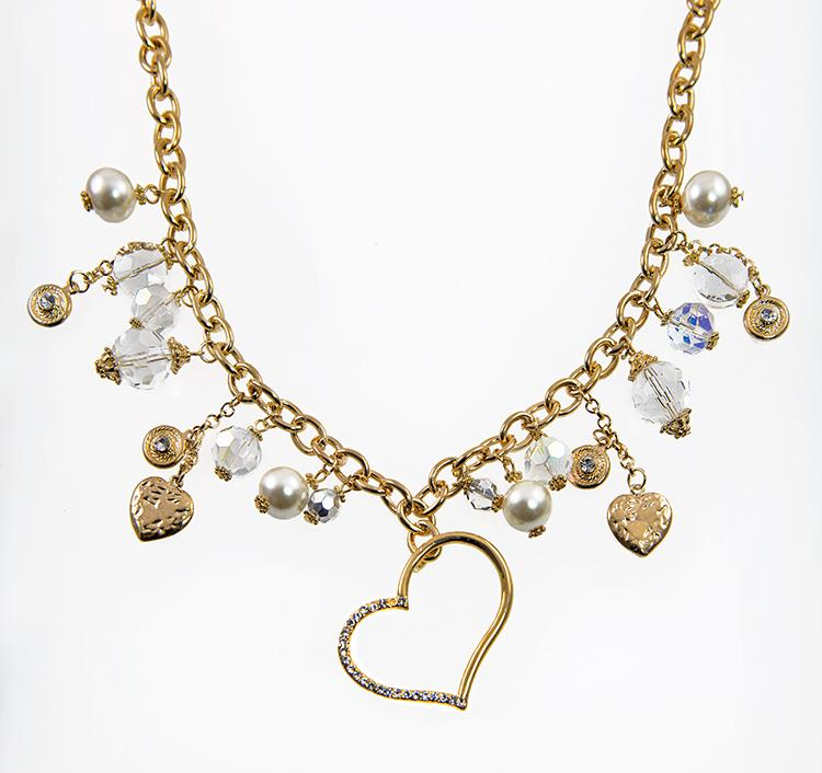SN303: Heart Treasure Necklace