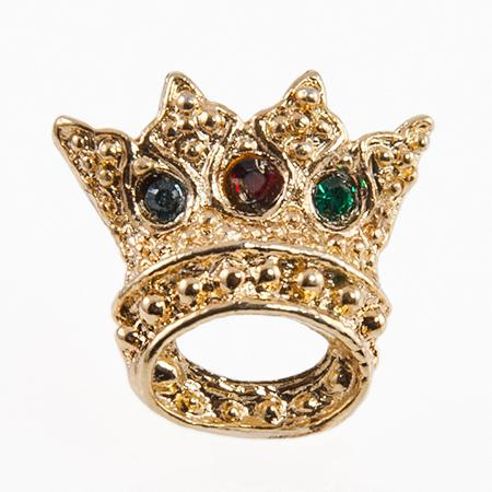 TA119M: Jewel Tone Crown Tac