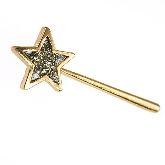 TA593 : Gold Star wand Diamond Dust