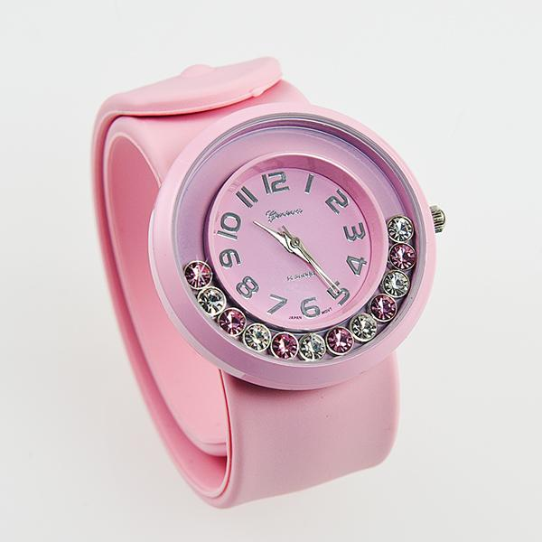 WA124: PINK Pop Slap Watch