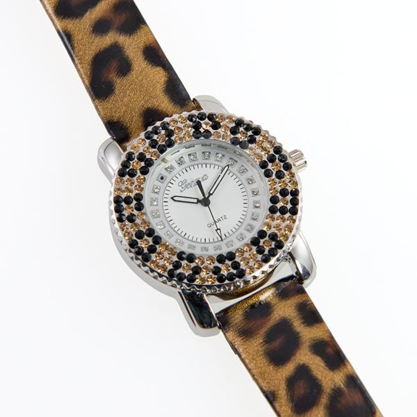 WA129: Leopard/Cheetah Watch