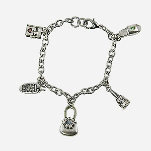 BR260: On The Go Charm Bracelet