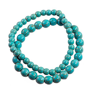 BR404: Turquoise Stretch Bracelet