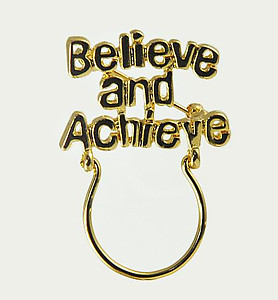CHP118: Believe and Achieve Charm Holder