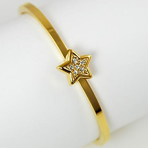CL29: Crystal Star Bangle Bracelet