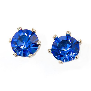 EA110B: Sapphire Sterling Silver Earrings