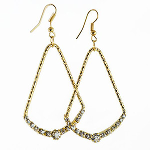 EA614: Elegant Rhinestone Earrings