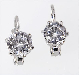 EA644: Elegant CZ Cubic Earrings