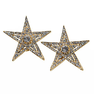 EA682: Austrian Crystal Star Earrings