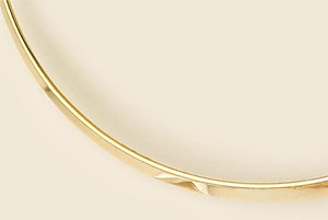 HC08: Collar Bar in Gold or Silver
