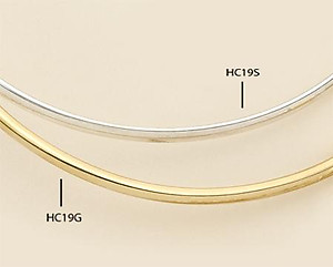 HC19: Collar Bar in Silver or Gold