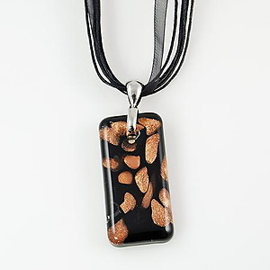 NA179: Murano Glass Pendant Necklace (2 Designs Available)