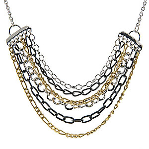 NA251: Tri Tone Necklace