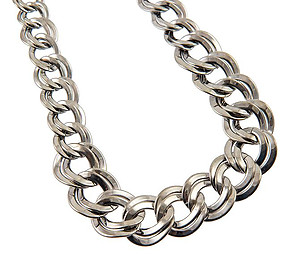 NA274: Double Rope Chain Necklace