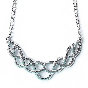 NA277: Woven Silver Necklace