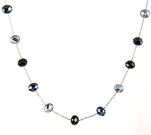 NA352: Delicate Crystal Necklace