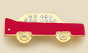 PA137: Red Car Pin
