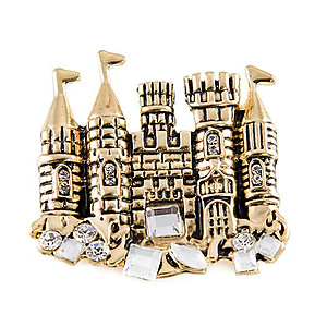 PA620: Golden Castle Pin