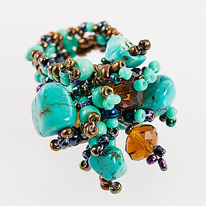 RA131: Turquoise Stretch Ring