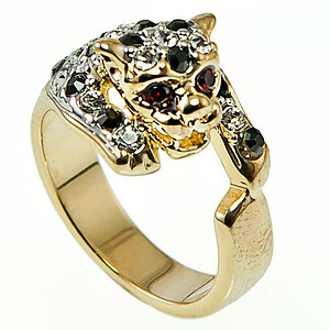 RA137: Exotic Leopard Ring