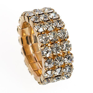 RA194: Stretch Crystal Ring