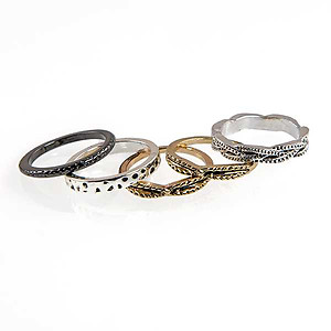 RA308: Collection of Stylish Rings