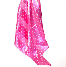 SS37:Black,Red, Purple, & White Polka Dot Scarf Bandanna