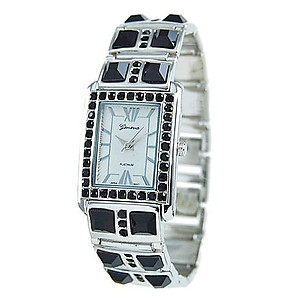 WA109: Designer Crystal Cuff Watch