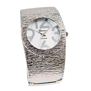 WA155: Silver Bangle Watch
