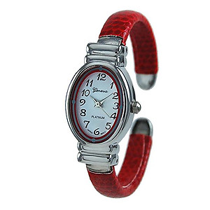 WA162: Red Cuff Watch