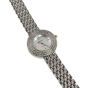 WA167: Platinum Silver Watch