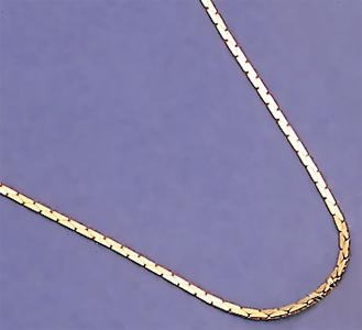 HC011: Cobra Chain in Gold or Silver