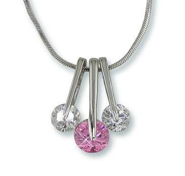 NA181: Yurmanesque Pink Ice Necklace