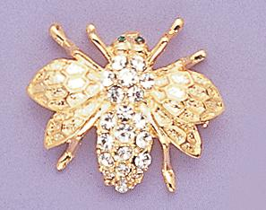 PA225: Bee Pin in Gold